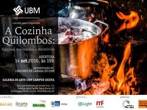 Exposição retrata culinária quilombola em Volta Redonda, RJ