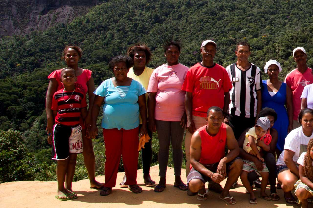 Quilombo da Tapera Petrópolis, Região Serrana